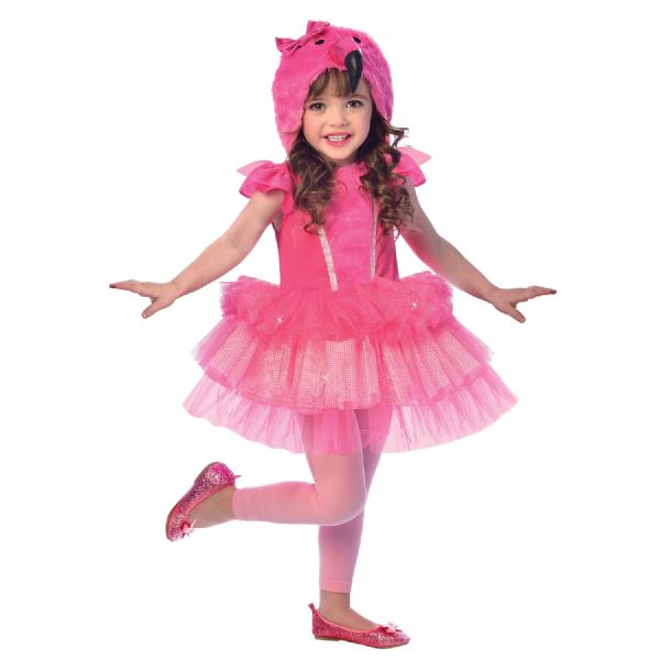 Flamingo Costume Toddlers Fancy Dress Outfit